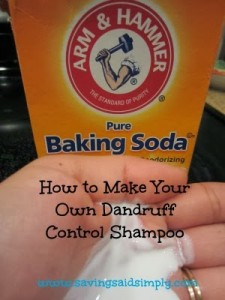 How to make your own Dandruff Control Shampoo