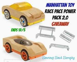 Manhattan Toy Motorworks Wooden Vehicle Review Giveaway