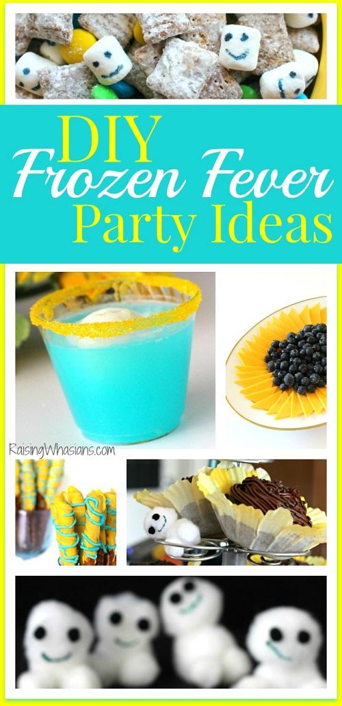 Frozen fever party diy