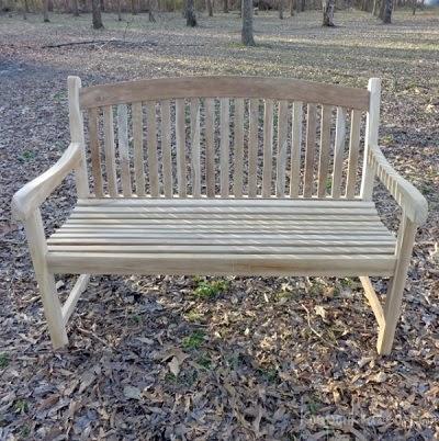 Teak Wood Bench Giveaway Raising Whasians