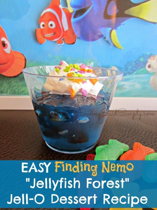 "Easy Finding Nemo ""jellyfish forest"" Jell-o Dessert Recipe"