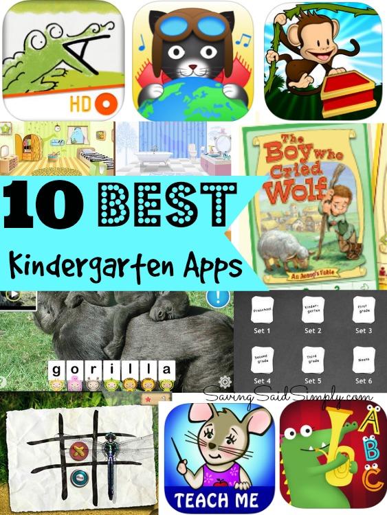 10 Best Kindergarten Apps - Raising Whasians