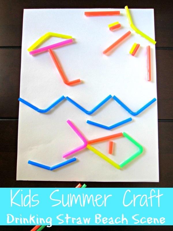 kids-summer-craft-straw