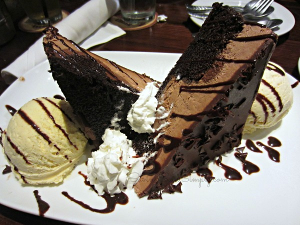 Longhorn Chocolate Cake