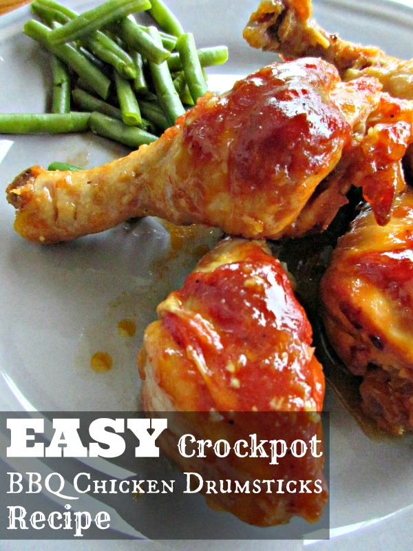 Easy Crockpot Bbq Chicken Drumsticks Recipe Raising Whasians