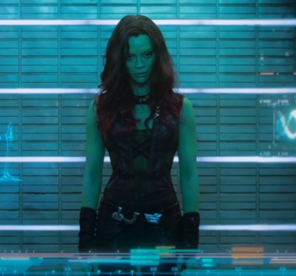 Zoe Saldana Guardians Interview - Gamora Is More Than ...