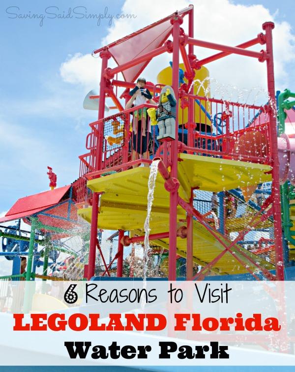 Visit LEGOLAND Florida Water Park