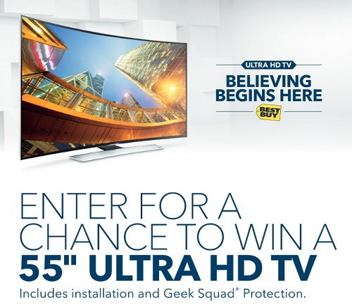 Best Buy Ultra HD TV In Store Events + Sweepstakes - Raising