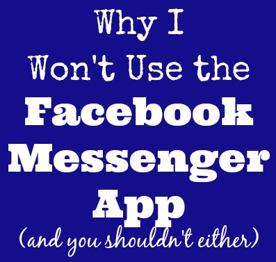 wont-use-facebook-messenger-app
