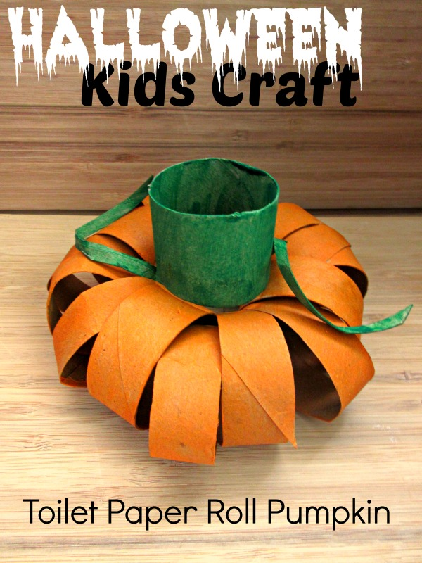 toddler halloween crafts craft toilet paper roll pumpkin raising 3121