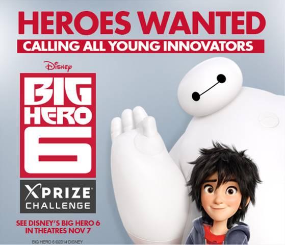 Big hero 6 contest