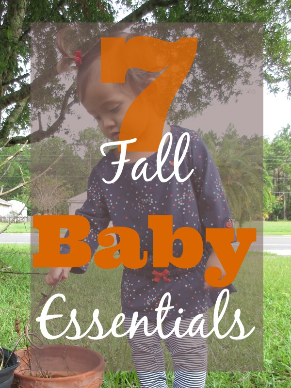 Fall baby essentials