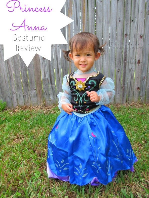 one step ahead for halloween princess anna costume review