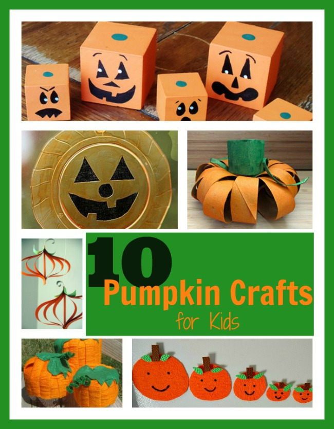 It's just an image of Bright Pumpkin Craft for Toddlers