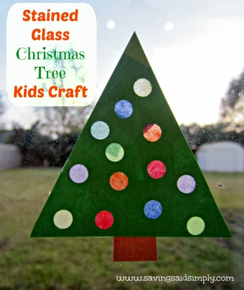 stained-glass-christmas-tree-kids-craft