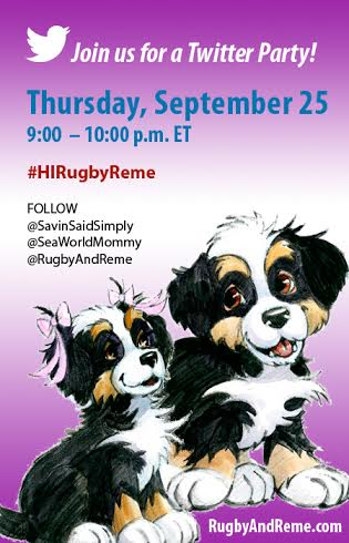 Twitter Party Win $100 9-25 #HiRubgyReme