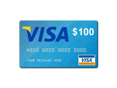 Twitter Party Win $100 Visa Gift Card
