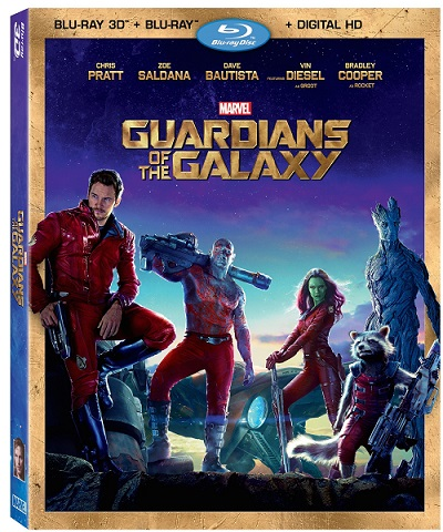 Guardians of the galaxy combo pack