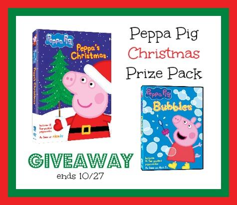Peppa pig Christmas dvd