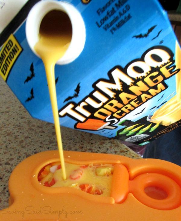 Trumoo orange scream milk