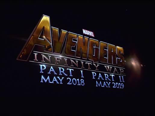 Avengers infinity reveal