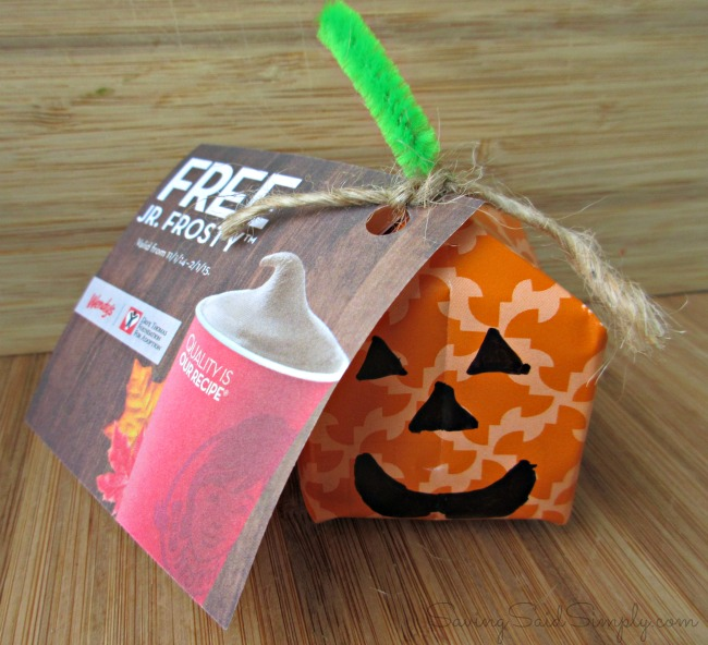 Pumpkin craft treat
