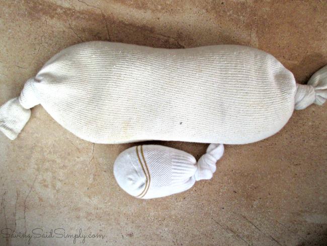 Rice sock heating pad