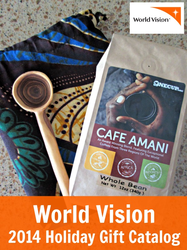 World vision 2014 holiday gift catalog