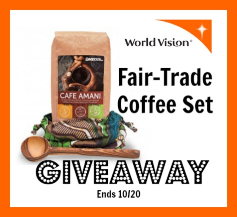 World vision coffee giveaway