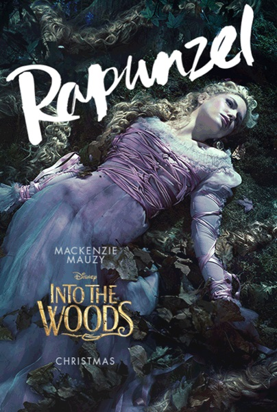 Into the woods movie poster Rapunzel