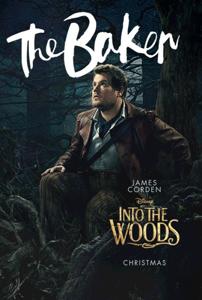 Into the woods movie poster baker