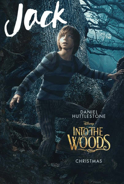 Into the woods movie poster jack
