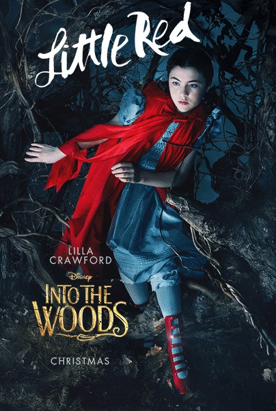 Into the woods movie poster little red