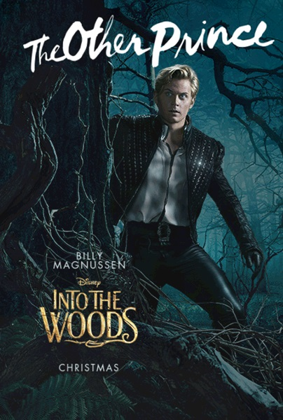 Into the woods movie poster othe prince