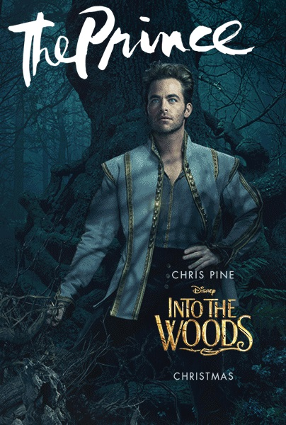 Into the woods movie poster prince