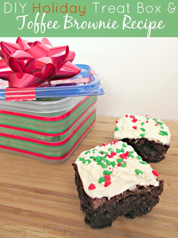 Diy holiday treat box recipe