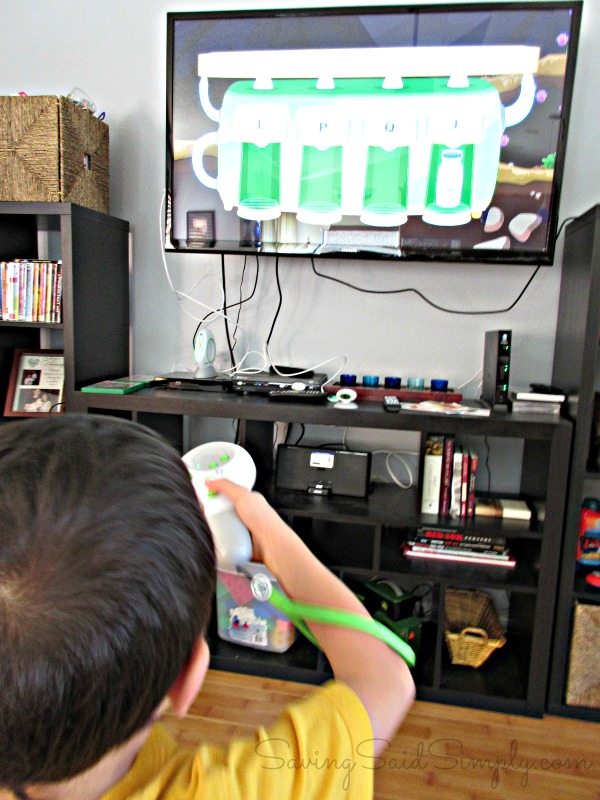 Game system for kids