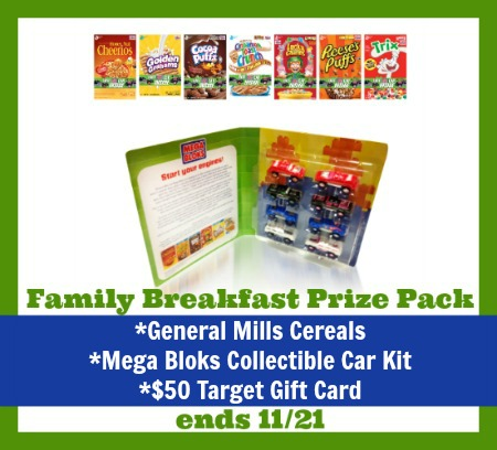 Breakfast prize pack