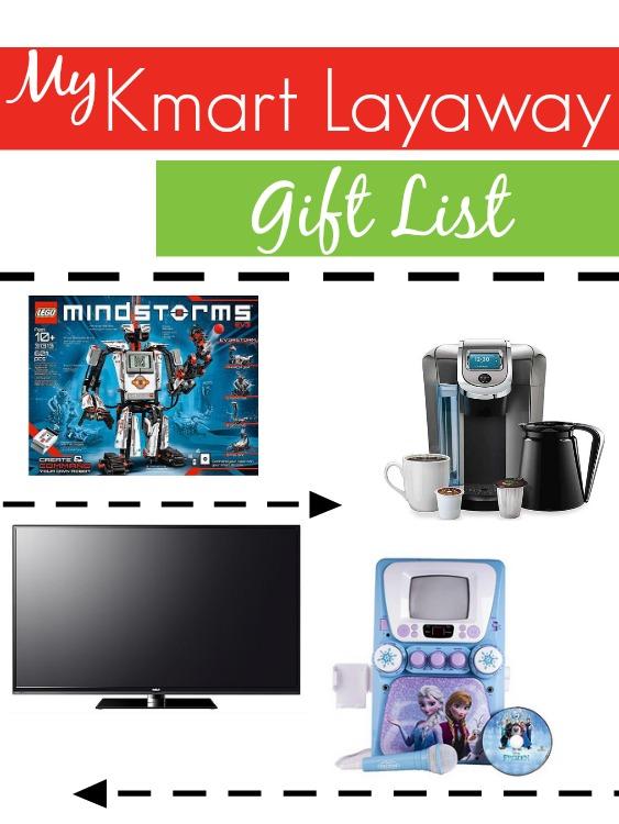 Kmart layaway gift