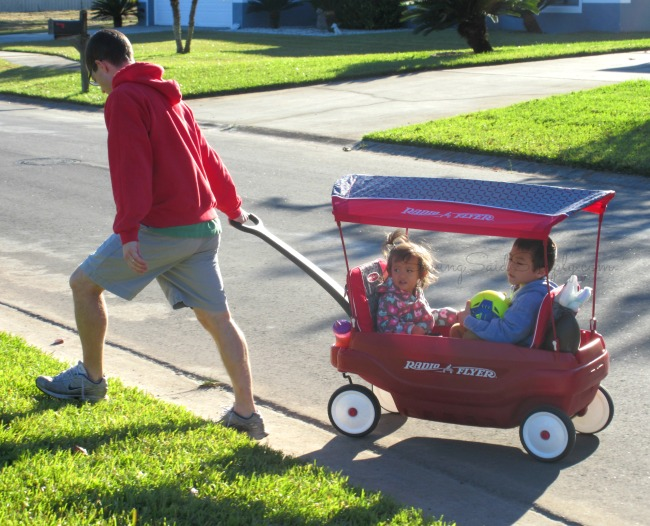 Radio flyer family wagon review