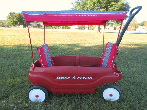 Radio flyer wagon options