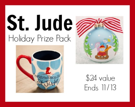 St jude holiday giveaway