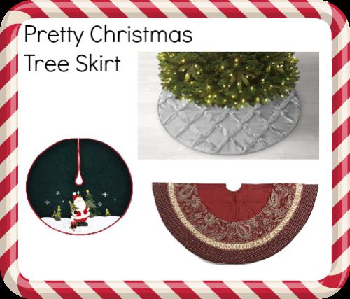Christmas tree needs skirt