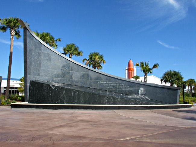 Families visit kennedy space center