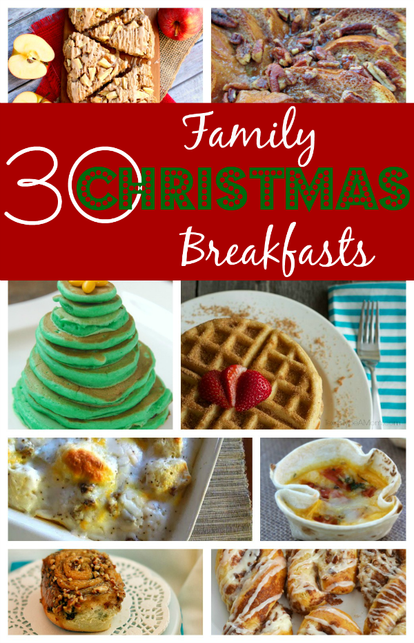 Family Christmas breakfast recipes