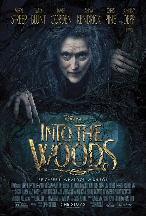 Into the woods review kids