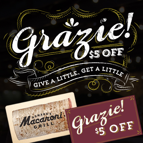 Give Macaroni Grill for the 2014 Holidays + Gift Card Deal