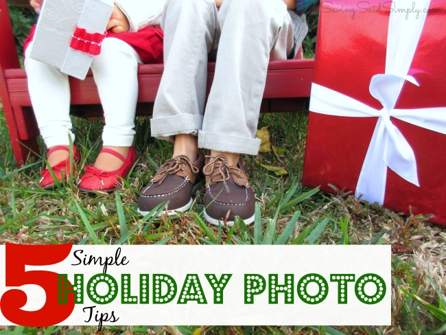 Simple holiday photo tips