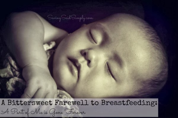 Breastfeeding farewell