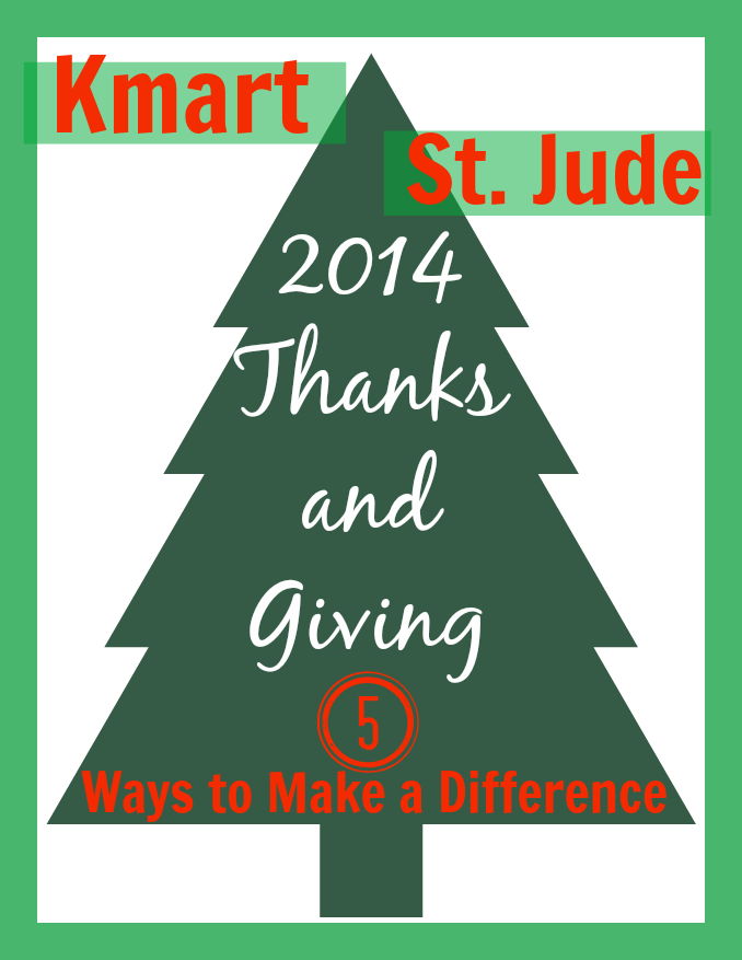 Kmart 2014 Fab 15 Toys | Thanks and Giving with St. Jude